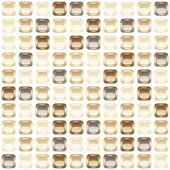 Chocolate mosaic seamless background vector illustration eps10 5 layers!