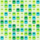 Green mosaic seamless background vector illustration eps10 5 layers!