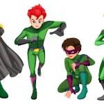 Постер, плакат: Green heroes