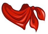 Piros sállal