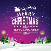 Christmas Background Greeting Card 03