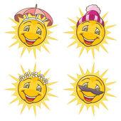 Lustige Sonne