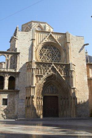 Постер, плакат: Valencia Cathedral, холст на подрамнике