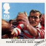 ������, ������: Harold Wagstaff Stamp