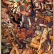 Постер, плакат: ANTWERP BELGIUM SEPTEMBER 4: The Fall of the Rebellious Angels by Frans Floris from year 1554 in the cathedral of Our Lady on September 4 2013 in Antwerp Belgium