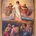 Постер, плакат: VIENNA JULY 27: Fresco of Transfiguration of Jesus on the mount Tabor by Franz Josef Dobiaschofsky from year 1860 in Altlerchenfelder church on July 27 2013 Vienna