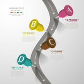 Vector abstract infographic elements