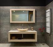 Modernes Interieur. Badezimmer