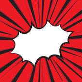Boom comic book explosion Vector illustration comic style