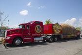 Svět je největší bramboru na kolech během slavné idaho brambor turné v Brooklynu