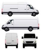 White Commercial Vehicle - Van No 2