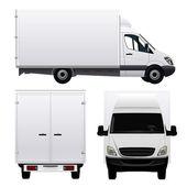 Set of Delivery Vans