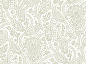 Seamless vector paisley background and pattern