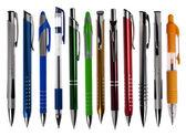 Elszigetelt fehér toll-gyűjtemény