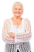Usmívající se babička