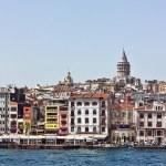 Постер, плакат: Kind of Istambul from Bosphorus