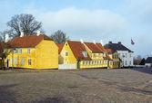 Street in  Roskilde, Denmark