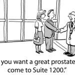 Постер, плакат: Prostate exam