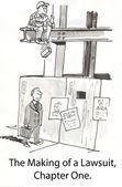 Pracovník omylem srazí cihla na výkonný