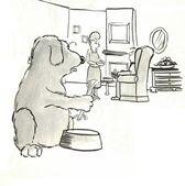 Sag mir, dass dies nicht Sellerie.für Hund