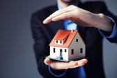 Domů pojištění koncepce