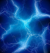 Vector Blue Lighting storm background