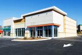 Nová komerční maloobchodní malá kancelářská budova