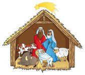 Bethlehem on white background 02 - vector illustration