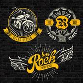 Rock tématikou odznaky