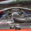 Постер, плакат: 2012 Ford Mustang Boss 302 car engine