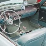 Постер, плакат: 1967 Aqua Ford Mustang Interior