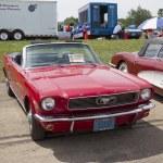 Постер, плакат: 1966 Red Ford Mustang Convertible