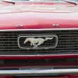 Постер, плакат: 1966 Red Ford Mustang Convertible Grill