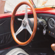 Постер, плакат: 1964 Red Shelby Cobra Interior