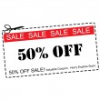 ������, ������: Fifty Percent Off Sale Coupon