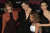 Sienna Guillory, Li Bingbing, Milla Jovovich, Aryana Engineer
