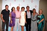 Billy Miller, Amelia Heinle, Jerry Douglas,Sharon Case, Peter Bergman, Jess Walton, Beth Maitland