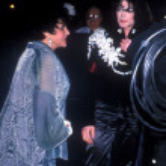 Постер, плакат: Elizabeth Taylor & Michael Jackson