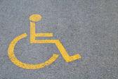 Přihlásit na parkovací místo vyhrazeno pro invalidy