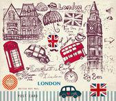 Vektorové Sada symbolů, Londýn