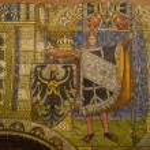 Постер, плакат: Ceiling mosaic Kaiser Wilhelm Memorial Church Berlin