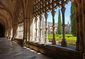 Old monastery and garden, Batalha, Portugal