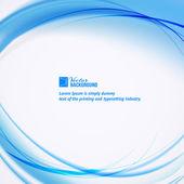 Abstrakt blau Business circle