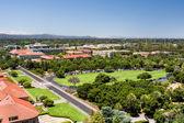 Draufsicht von der Stanford university