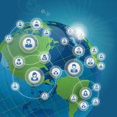 Communication - social network concept