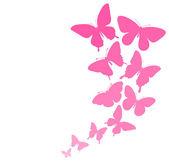Háttér, a határ a pillangók repülnek