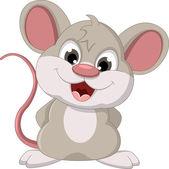 Roztomilé myši karikatura představovat