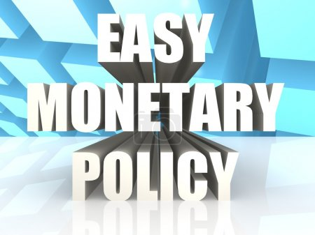 Постер, плакат: Easy Monetary Policy, холст на подрамнике