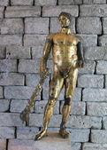 Antike römische Statue des Herkules