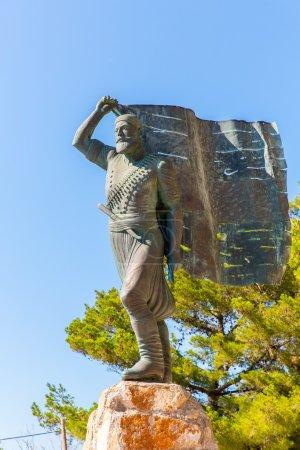 Постер, плакат: Monuments and sculptures Greece, холст на подрамнике